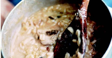 Morel And Cep Risotto