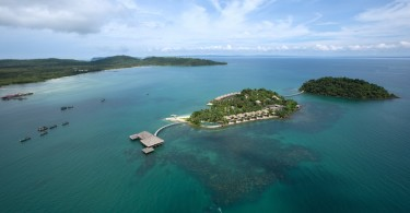 Song Saa Island Aerial View