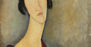 Amedeo Modigliani's portrait of Hanka Zborowska