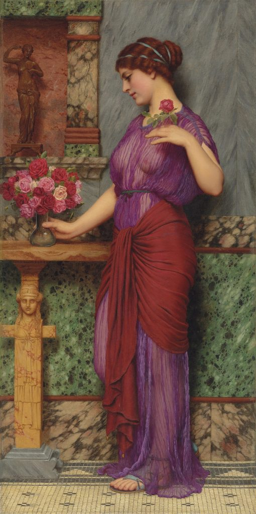 Victorian Pictures - John William Godward